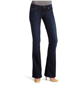 PAIGE Darkwash Laurel Canyon Bootcut Jeans